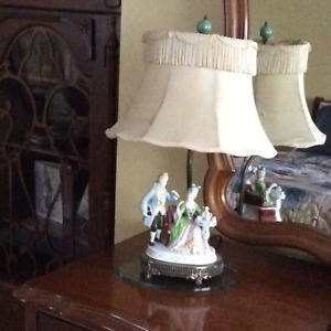 Antique Boudoir lamp