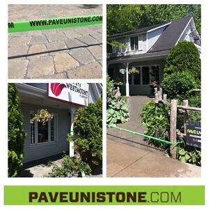 PAVE_UNI STONE - UNISTONE CLEANING , SEALING AND RE-LEVELLING - West Island Greater Montréal image 8
