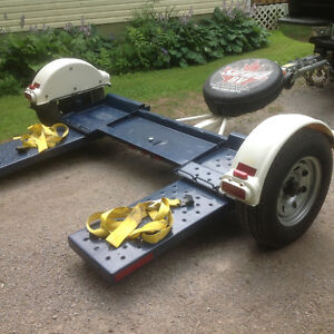 Master tow car and truck dolly