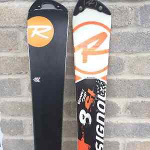 Ensemble skis et fixations Rossignol World Cup SL8