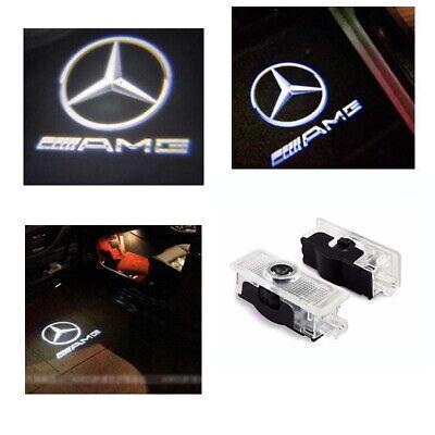 2x Türlicht Led AMG Logo Laser Projektor Mercedes E C207 A207 CLA C117 CLS W218