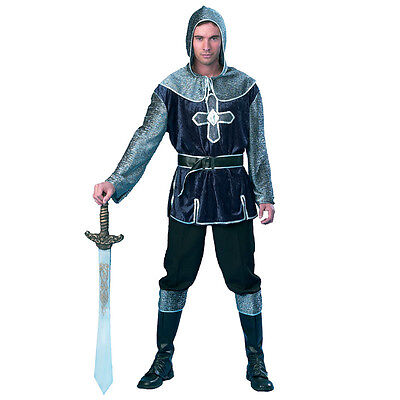 MEDIEVAL KNIGHT MEN'S COSTUME FANCY DRESS FOR HALLOWEEN ADULT TWO - Halloween Costumes For Two