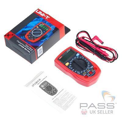 *NEW*  Genuine UNI-T UT33D Palm Size Digital Multimeter - AC/DC Voltage / UK
