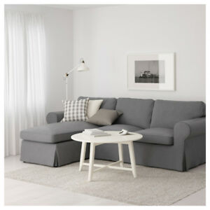 IKEA Ektorp Sofa w/Chaise and Loveseat