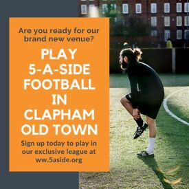 SPACES - Clapham Old Town 5-a-side Football!