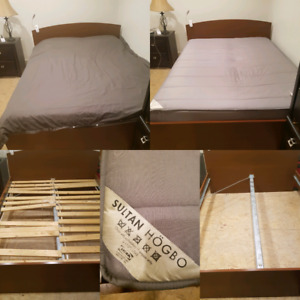 Curb Alert! Queen size Ikea bed frame and/or mattress