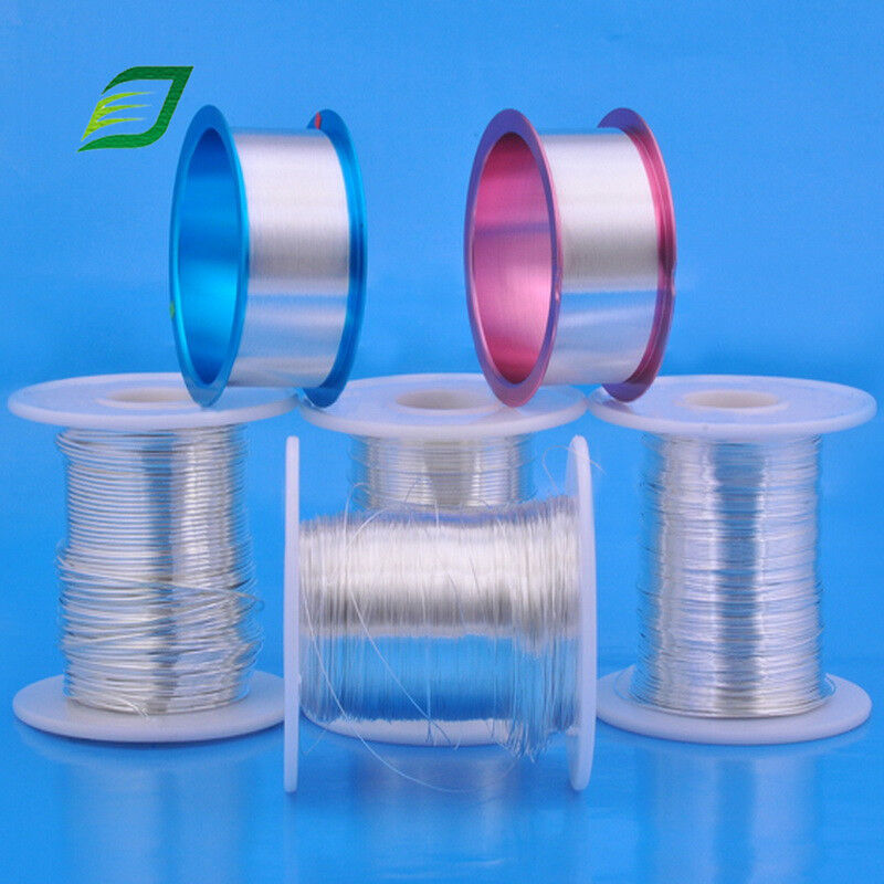 Sterling 925 silver round wire soft 16,18,20,22,24 gauge 5 10 15 feet USA MADE