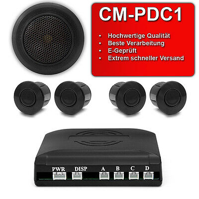 Einparkhilfe Rückfahrwarner Parksensoren akustische Parkhilfe PDC Parksensor 12V