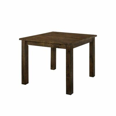 Furniture of America Belton II Pub Table in Rustic Oak