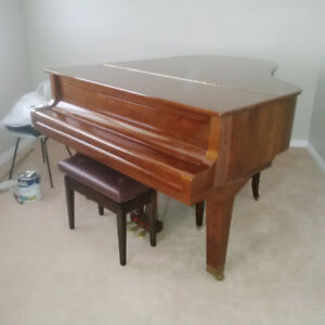Beautiful Weber Grand Piano