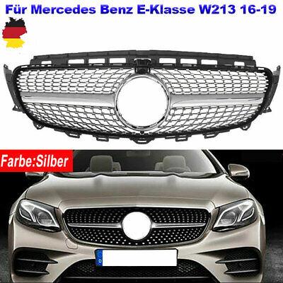 Sport Kühlergrill Für Mercedes Benz E-Klasse W213 E300 E400 16-19 Mit Kameraloch