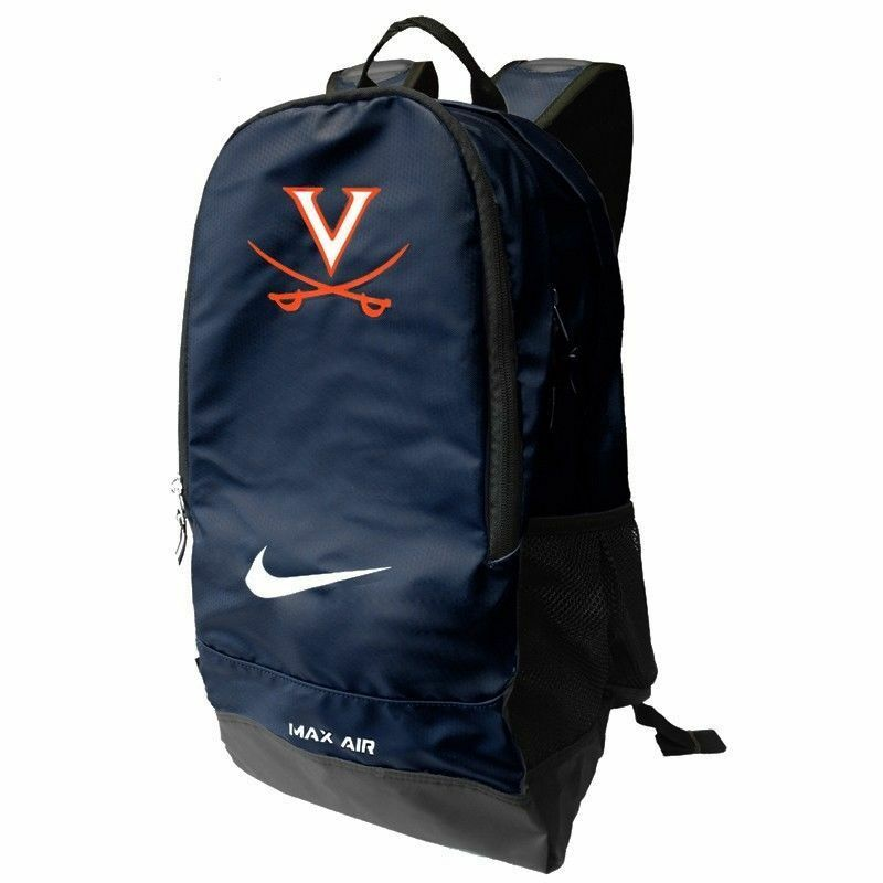 261a99d607 Nike Vapor Max Air Virginia UVA ACC College Backpack One Size BZ9580 ...