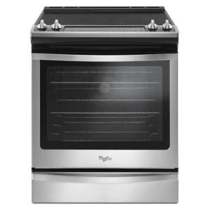 slide-in electric range|Ranges YWEE745H0FS Front Control Electric Range with True Convection (BD-954)