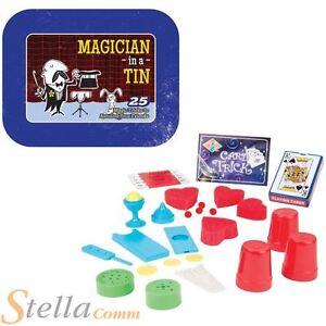 Mago-En-Lata-25-Magia-amp-Tarjeta-trucos-SET-DE-REGALO