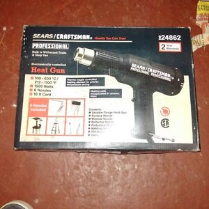 brand new craftsman professional heat gun