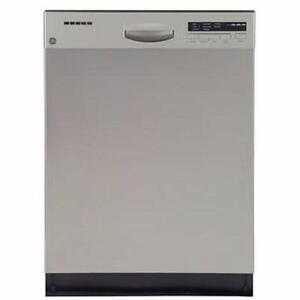 24'' Stainless Steel Dishwasher, GE