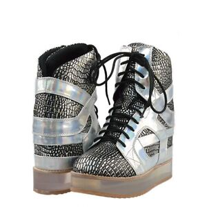 NEW - Jeffrey Campbell Rodman-CP High Top Sneakers, Size 7.5