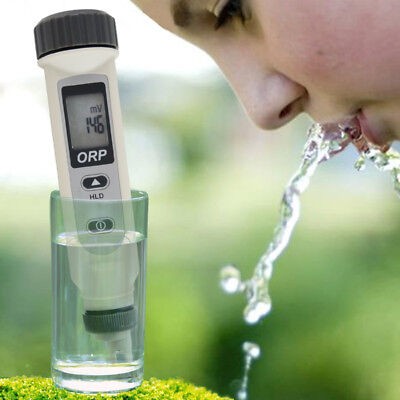 Pocket Orp Meter 999mv Redox Monitor Ionizer Dissolved Oxygen Lab Test Radicals