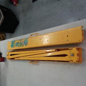 chevalets acier ajustable PROFFESSIONNEL