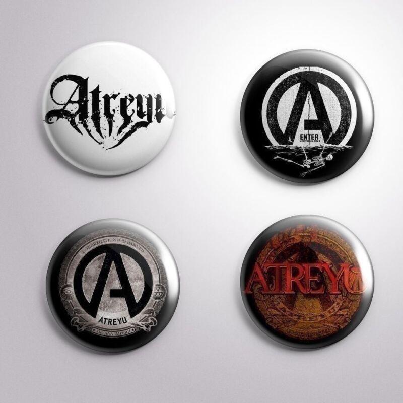 4 ATREYU - Pinbacks Badge Button 25mm 1