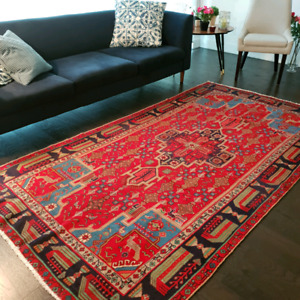 Antique Persian Rug  , almost 90 years old , professionally wash