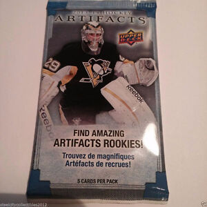 UpperDeck Artifacts Hockey 2013/14 $2 Per Pack Wow!! Look!!