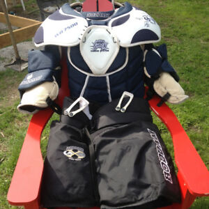Box Lacrosse Goalie Equipment