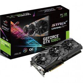 ASUS ROG Strix NVIDIA GeForce GTX 1080 Ti OC Edition (11GB)