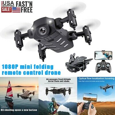 Mini Drone X Pro WIFI FPV Headless 4K1080P HD Camera Foldable RC Quadcopter Kit