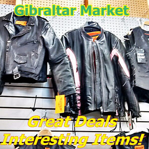 Bikers! Leather Jackets & Helmets Various Sizes
