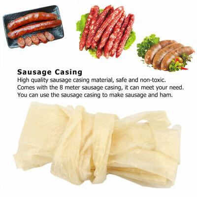 Natural Sausage Casings Skin Homemade Collagen Casing Smoked Sausage Ham Hot Dog