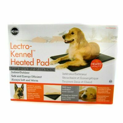 K&H Lectro Kennel Indoor/Outdoor Heated Pet Pad Large 28.5
