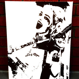 Harley Quinn 16x20 painting