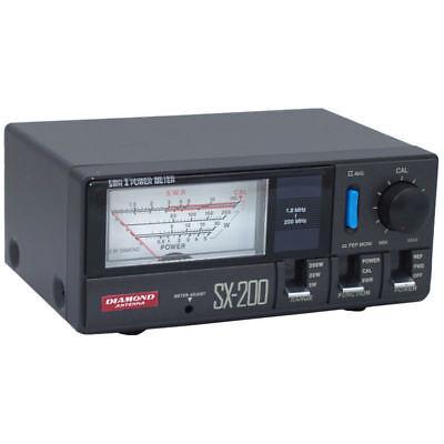 Diamond SX200 SWR Power Meter 1.8-200 MHz 200 Watts