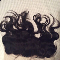 Silkbase, frontal closure,lace closure. L- indectactable