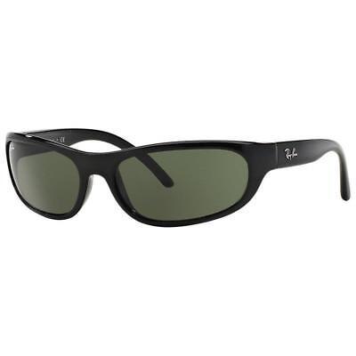1b7ef37af4 RAY BAN 4033 601-S 48 Predator POLARIZED Sunglasses Matte Black Gray Green  Wrap