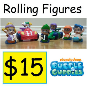 BUBBLE GUPPIES - Rock & Roll and BUBBLE PRIX Racers!! ONLY $15!!