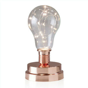 TORRE & TAGUS Light Bulb LED Mini Lamp Copper