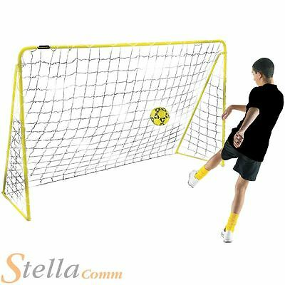 Kickmaster Premier Metal Frame Football Goals Summer Garden Shooting Practice