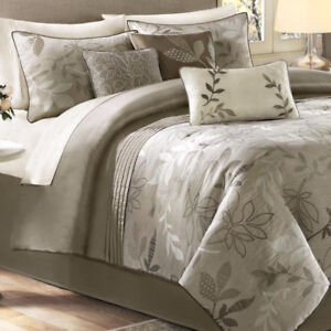 Madison Park Avery 7pc Comforter Set - Queen, New