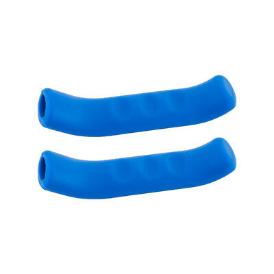 Brake Lever Grips - Grips Miles Wide Brake Lever Covers Sticky Fingers 2.0 Blue