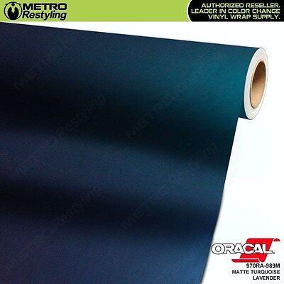 Turquoise Vinyl - ORACAL 970RA-989M MATTE TURQUOISE LAVENDER Vinyl Vehicle Car Wrap Decal Roll