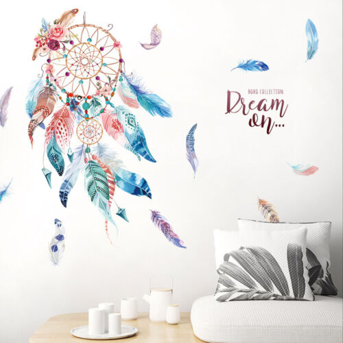 Home Decoration - Dream Catcher Wall Sticker Decal Kids Nursery Home Bedroom Decor Art Mural DIY