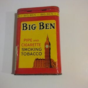 Pig Ben tobacco tin