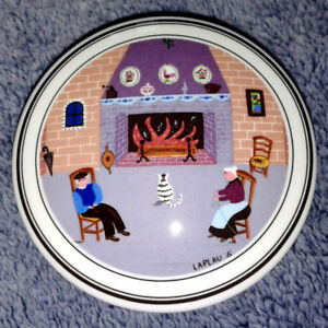 "Villeroy & Boch ""Design Naif By The Fireside"" Candy Box"
