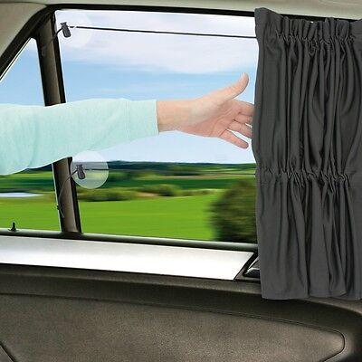 Sonnenschutz Sonnentuch Auto-Gardine Auto-Vorhang für jedes Auto UV-Schutz 40+