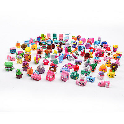 100PCS/Lot Of Random Shopkins of Season 1 2 3 4 Loose Action Figure Toys Doll