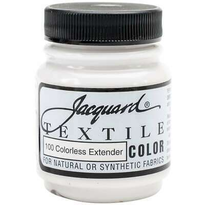 Jacquard Textile Color Fabric Paint 2.25oz Clear Extender 743772110002