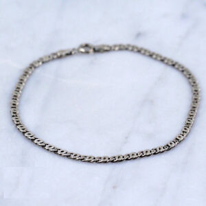 Sterling Silver 3mm Curb Chain Bracelet