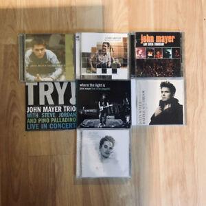 7 JOHN MAYER CDs